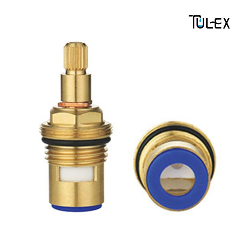 High Standard Ceramic Disc Faucet Cartridge Spout Brass Replacement Water Mixer Tap Inner Valve Core Quarter Turn Best Price Mixer Taps Faucet Spout