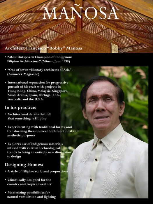 National Artist Of The Philippines For Architecture And Their Works