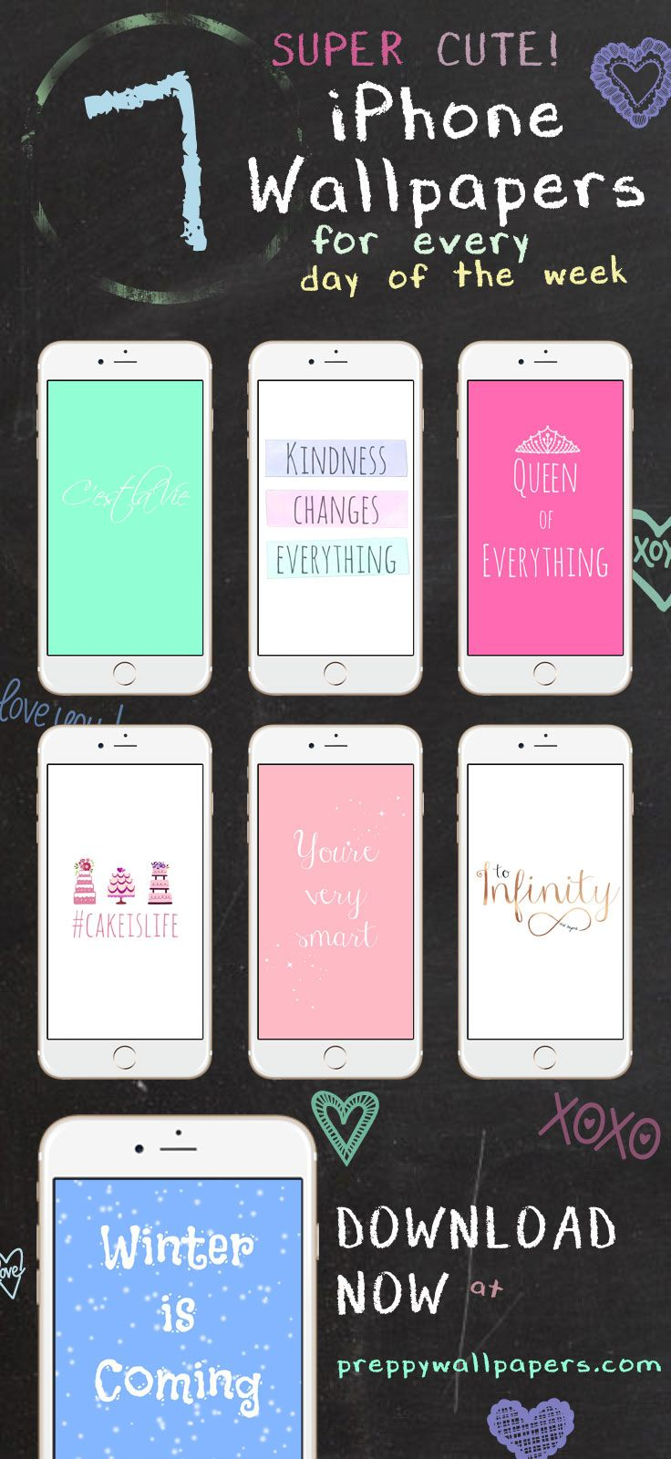 For Free Preppy Original Super Cute Iphone Wallpaper Collection