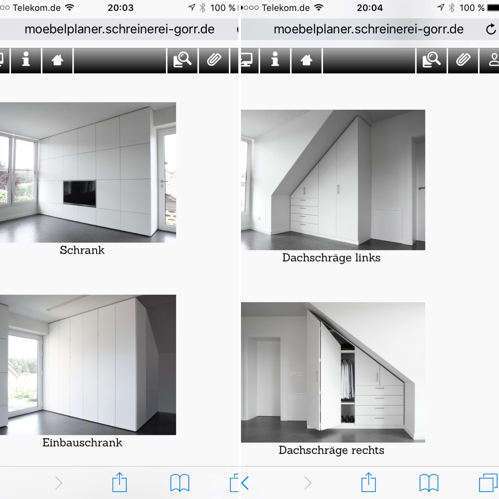 Neues von unserem Möbelplaner! Jetzt können Sie auch ...