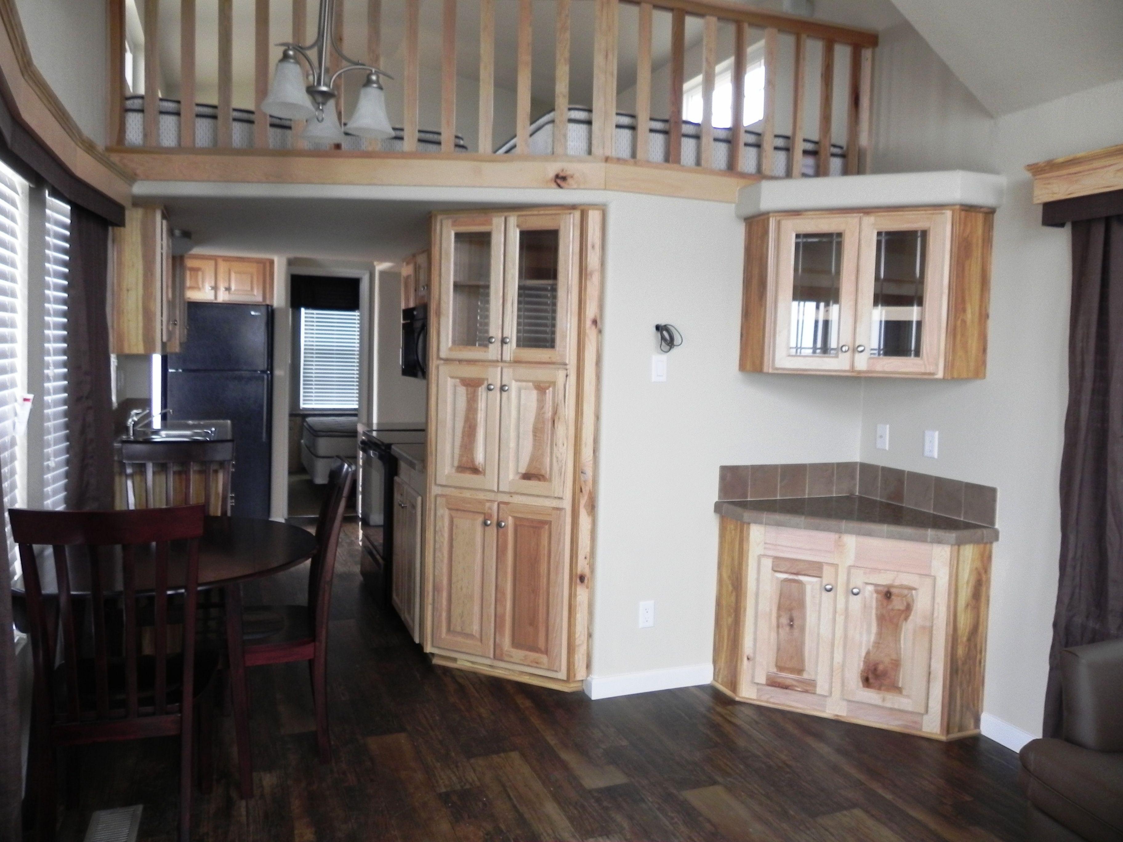Spacious Lake Fork cabin interiors at Pope's Landing Marina! www.Popeslanding.com