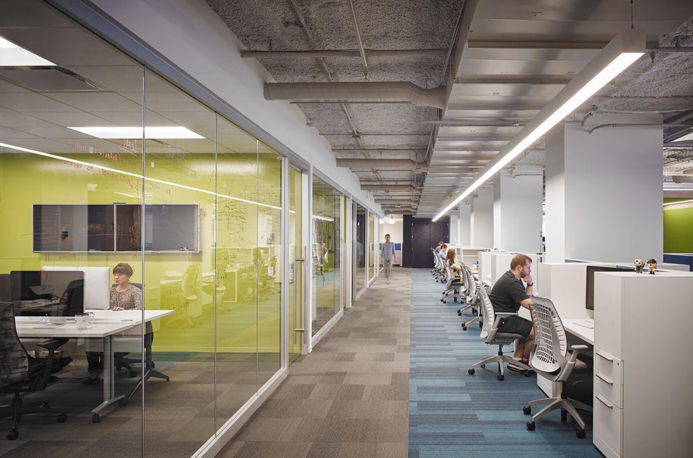 Enova Workstation Split Pbd Interiors Open Office