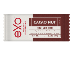 Exo | Made With Cricket Flour — Cacao Nut #paleo (not Whole30 due to Honey)