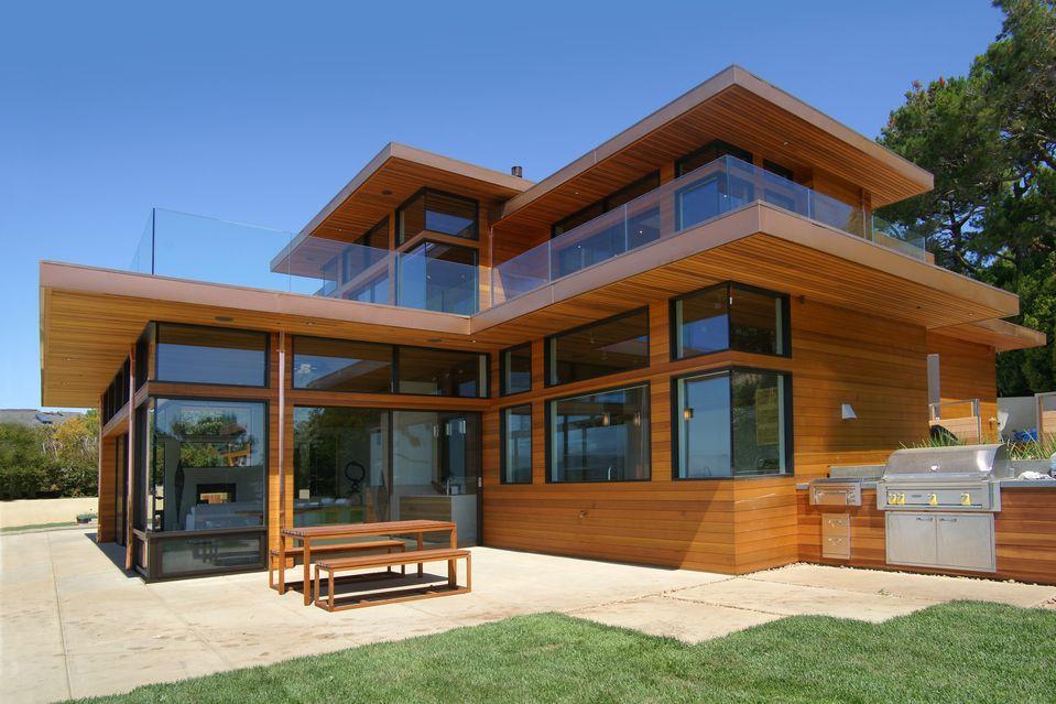 High Tech Living In Tiburon Construcao De Casas Casas De
