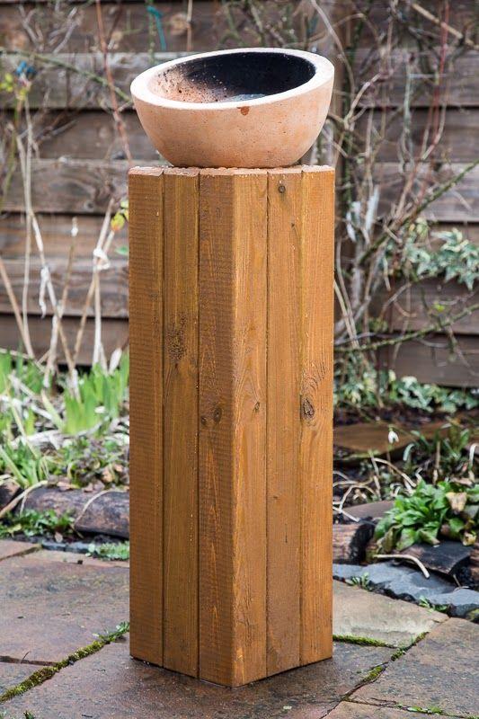 Tschessilicious Heimwerken Deluxe Holzsaule Fur Den Garten Holz Saulen Haustur Dekor Selbermachen Holz