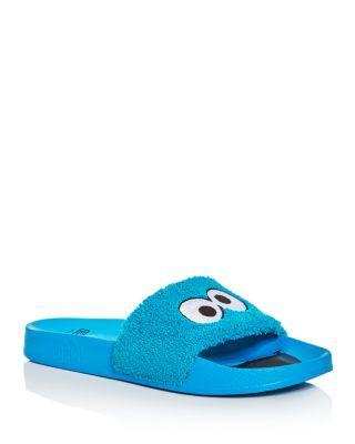 PUMA Men S Leadcat Sesame Street Cookie Monster Slide Sandals.  puma  shoes   sandals 1f8edc6d6