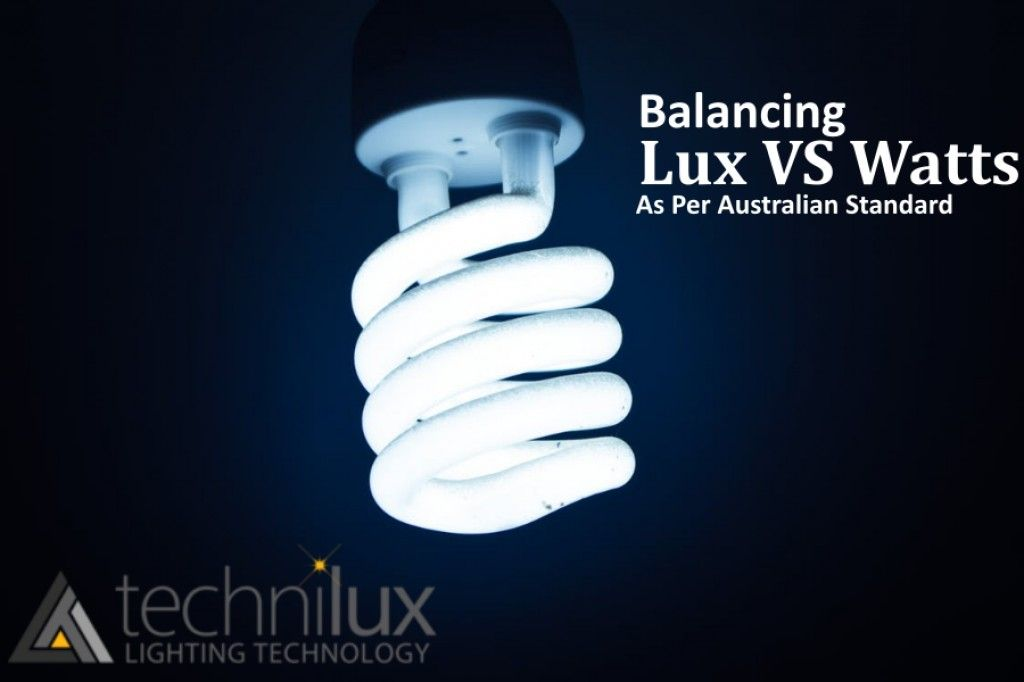 Balancing Lux And Watts As Per Australian Standard Commercial