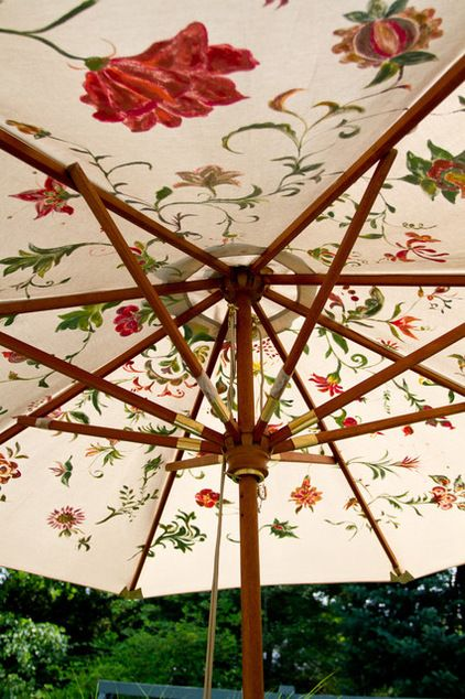 Great Idea To Use Fabric Paint On A Faded But Good Umbrella
