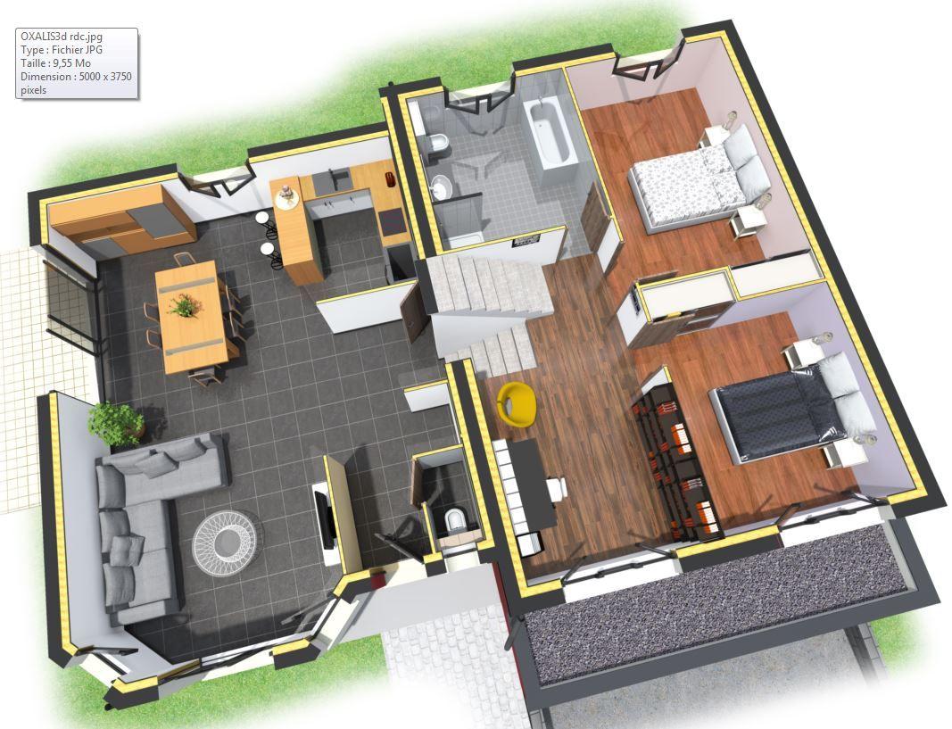 Plans Maison Demi Niveau
