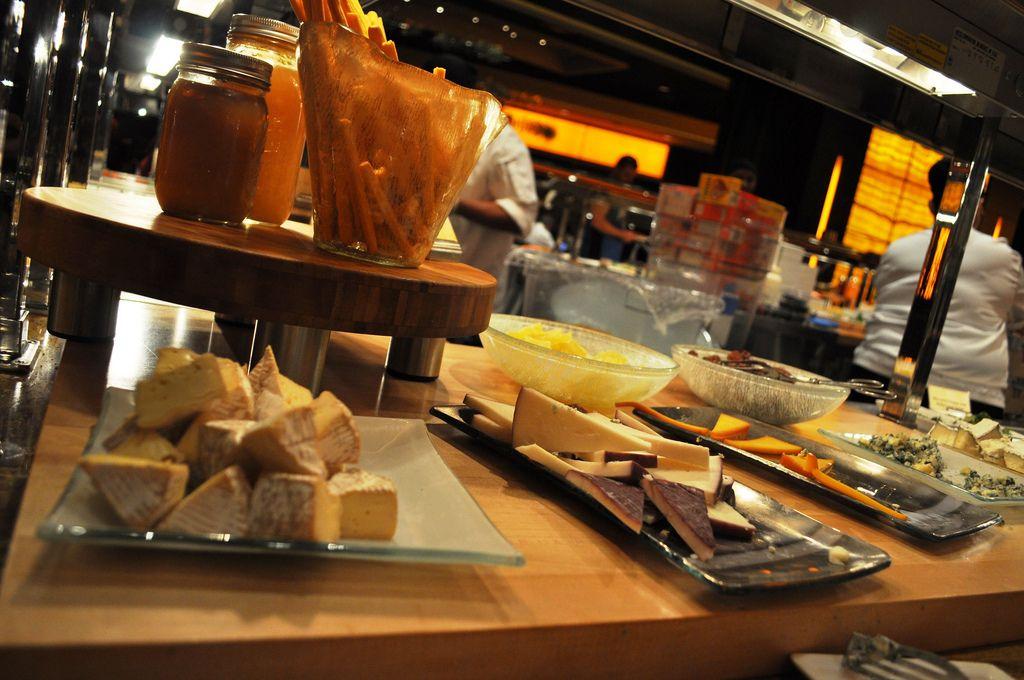 cheese platters by glass studio at wicked spoon buffet cosmopolitan rh pinterest co uk