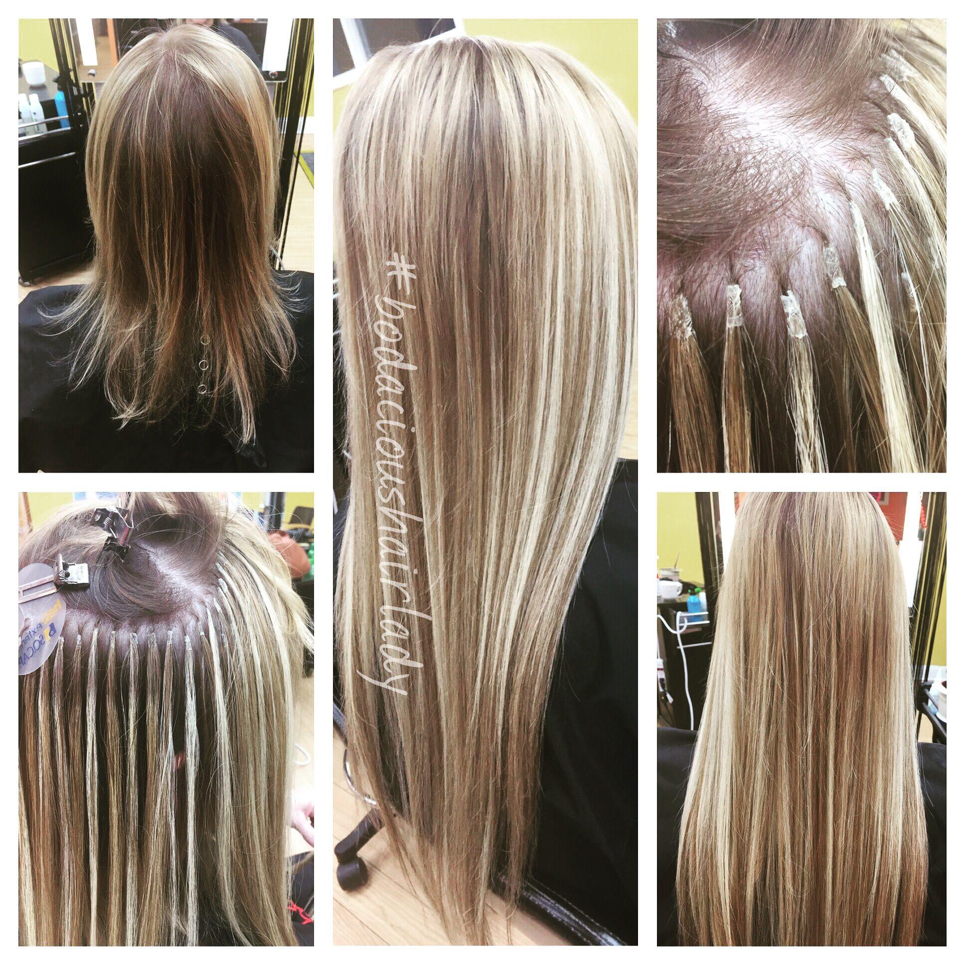 Socap Hair Extensions Fusion Human Hair Keratin Bonds Stylist