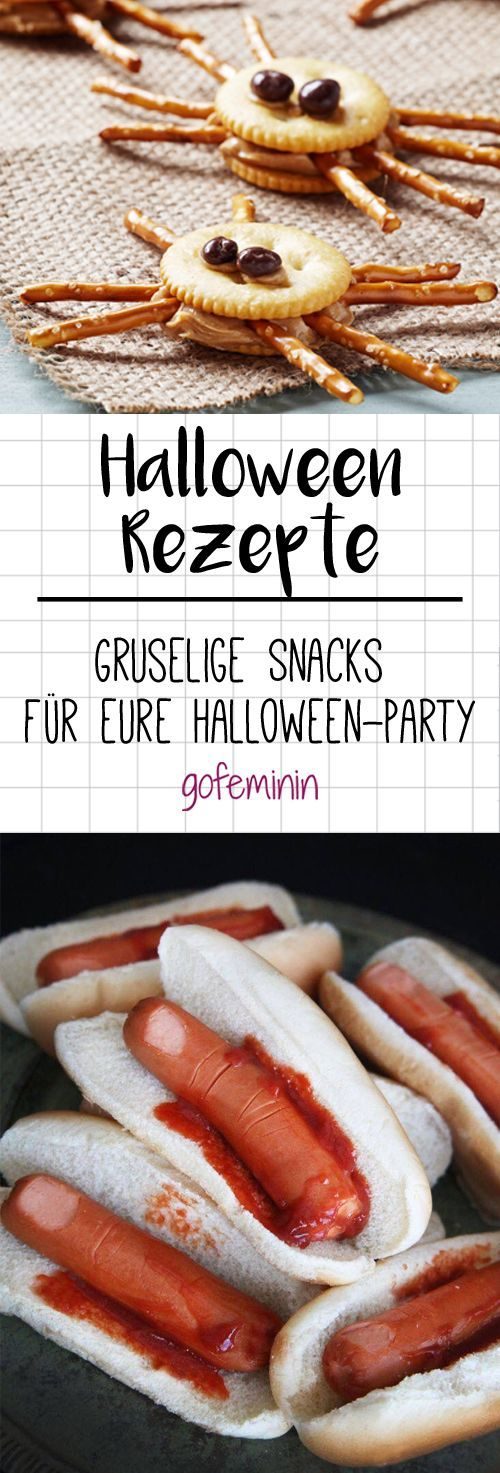 Gruselige Snacks für eure Halloween-Party, #eure #für #gruselige #HalloweenParty #holidayide...