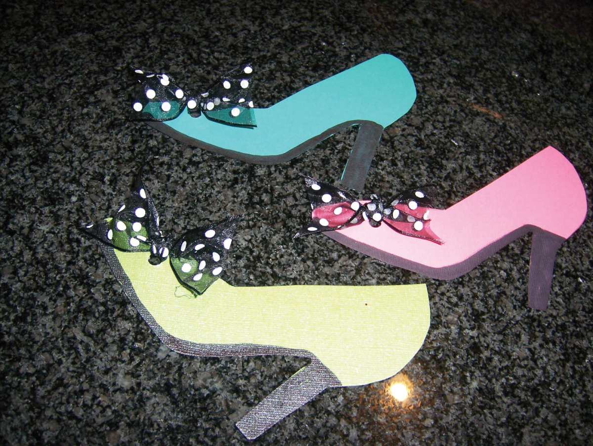 shoe party ideas | ... party with high heeled invitations a shoebox ...