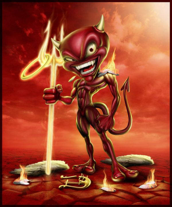 Дьяволы прикольные картинки