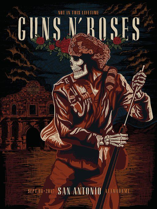 Twitter | Concert posters in 2019 | Guns n roses, Concert