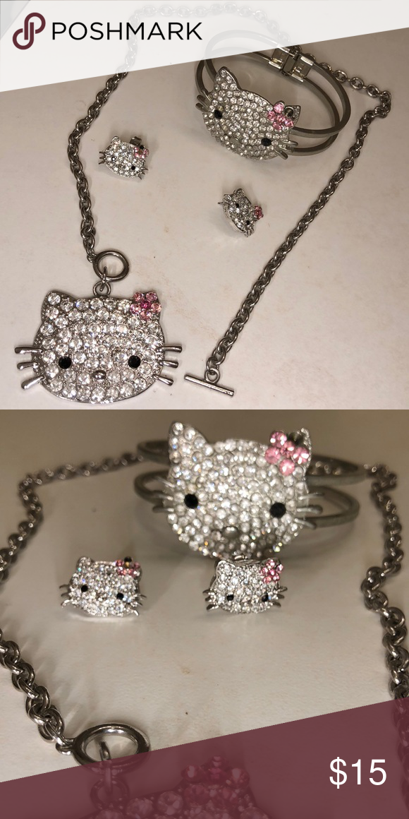 1ec4ba5e3 Hello Kitty Jewelry Set My Posh Closet Jewelry Hello Kitty
