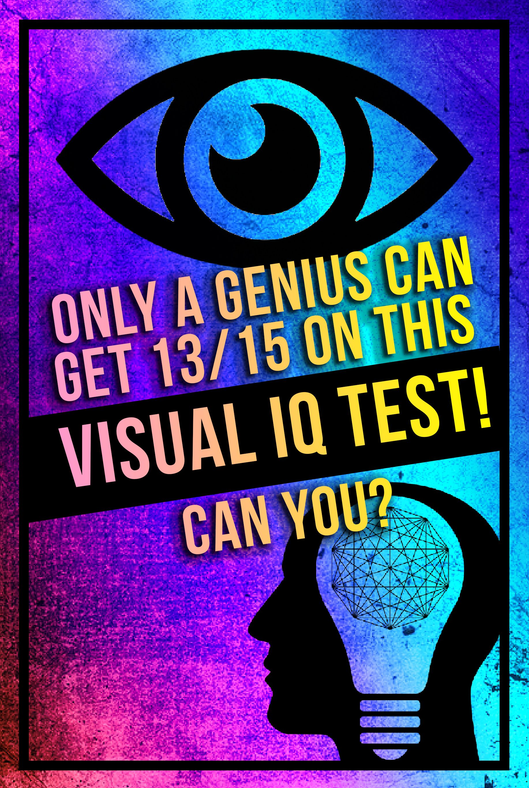 Quiz: Only A Genius Can Get 15/18 On This Visual IQ Test! Can You
