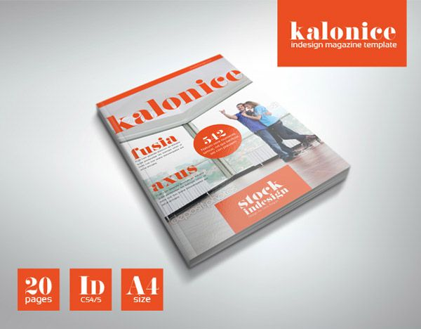 Kalonice Una Plantilla Profesional Gratuita Para Crear Nuestra Propia Revista Journal Indesign Monopoly Deal