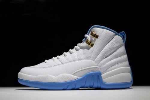171d67401e4075 air jordan 12 university blue white metallic gold university blue mens and  womens