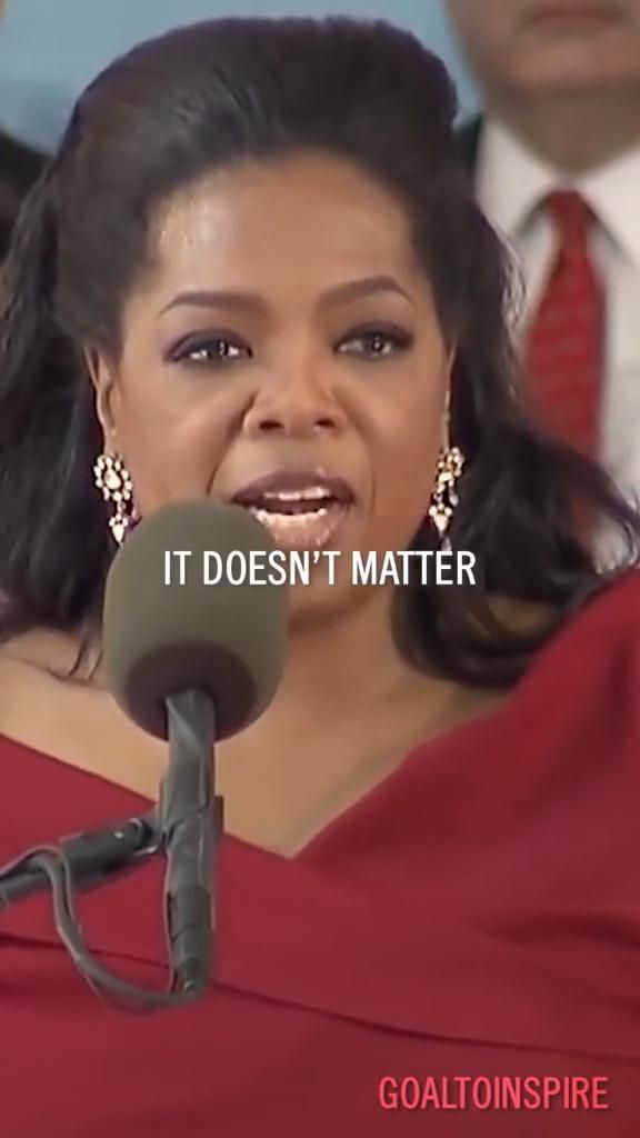 Oprah Winfrey speech motivation