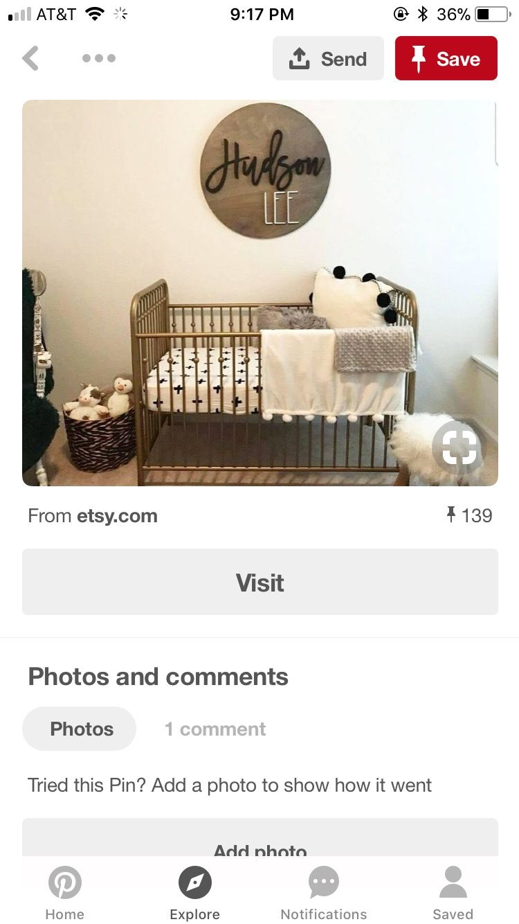 Pin by Ryan Perkins on Nursery | Toddler bed, Nursery ...