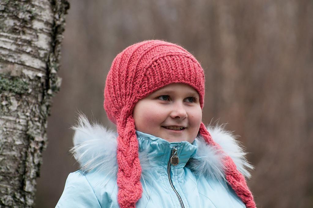 (6) Name: 'Knitting : Braided hat