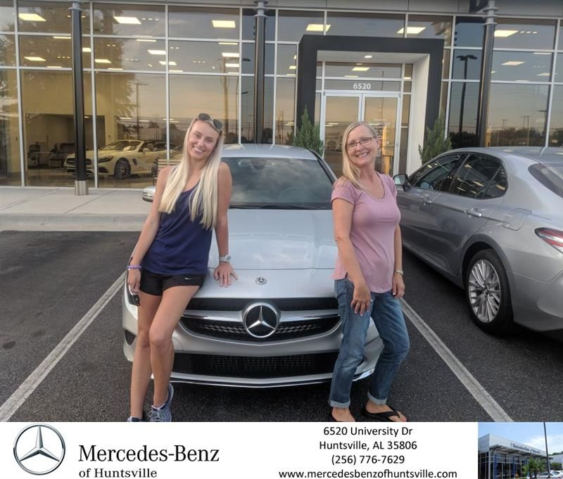 Congratulations Sarah Tammy On Your Mercedes Benz Cla From Joe Yacka At Mercedes Benz Of Huntsville Mercedes Benzofhuntsv Mercedes Benz New Mercedes Benz