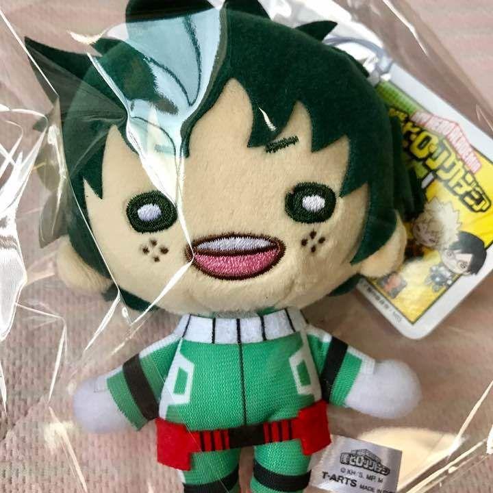 Plush Doll Tagged Izuku Midoriya Nitotan Big Stuffed Toy My Hero Academia