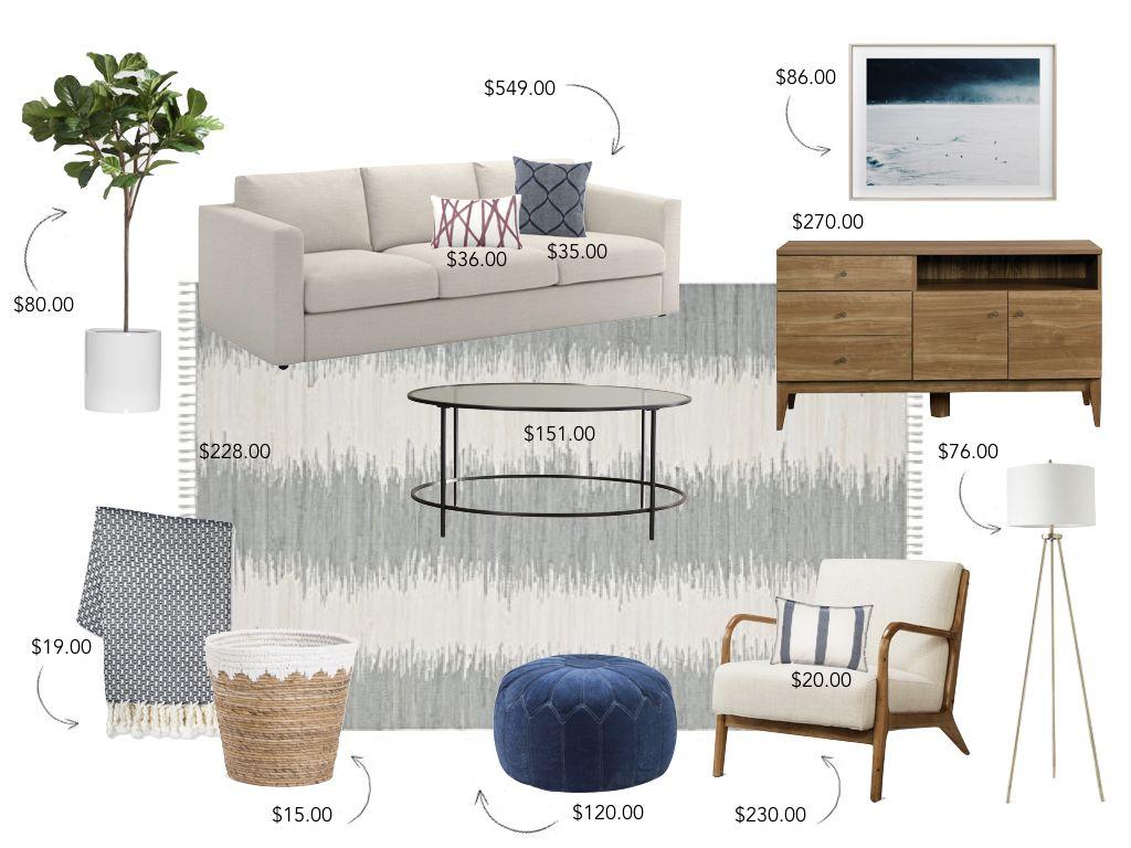 Taylor Schaap Design Budget Friendly Modern Living Room Design Fair Affordable Living Room Designs 2018