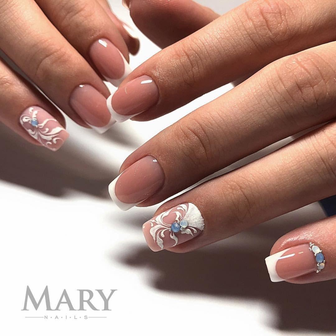 Francuzskij Manikyur Gellak Venzelya Na Nogtyah Nail Nails Nails