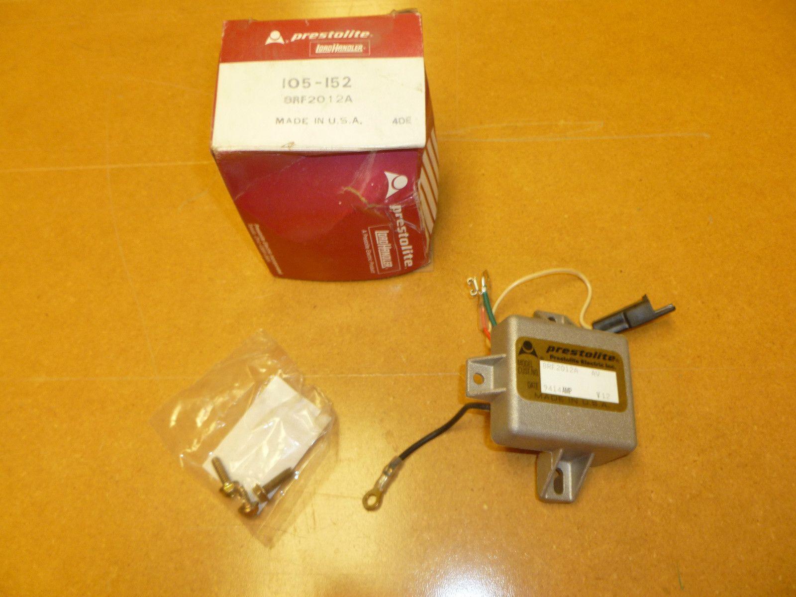 You are buying one 105-152 Prestolite 12 volts Voltage Regulators