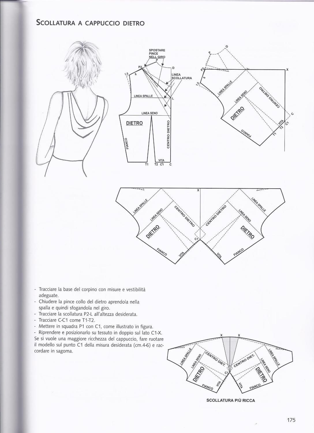 La tecnica dei modelli uomo donna 1 | Patrones, Costura y Molde
