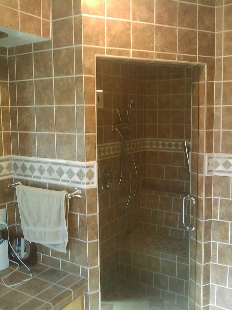 Shower Without Door Or Curtain Httpsourceabl Pinterest