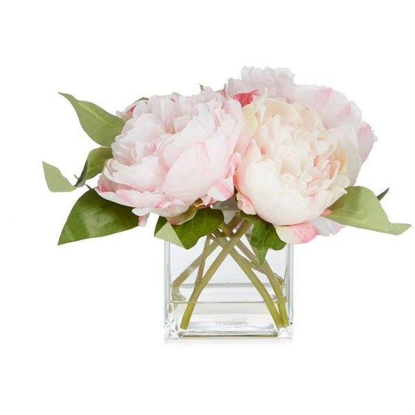 Debenhams pink peony flowers in vase 53 liked on polyvore debenhams pink peony flowers in vase 53 liked on polyvore featuring home mightylinksfo