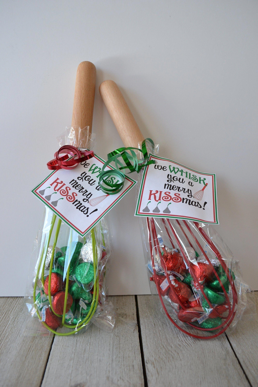 We WHISK You a Merry KISSmas tag; 3x3 tag; 8.5x11