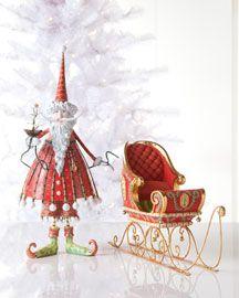 Love this Santa and sleigh.