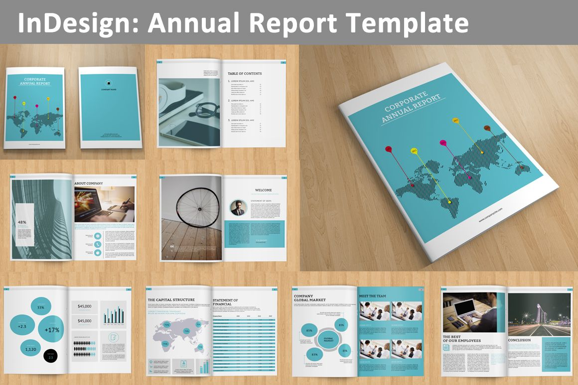 Annual Report -V129 | Annual reports, Template and Brochures