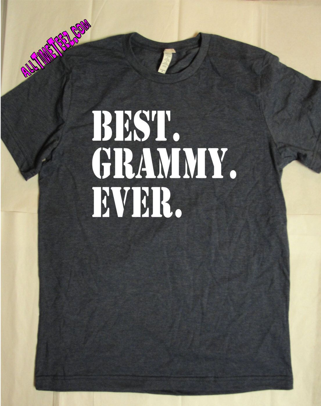Best Grammy Ever T Shirt - Baby Announcement Shirt - New Grandma, Grandmother, Grammy Shirt - Ships from USA #newgrandma