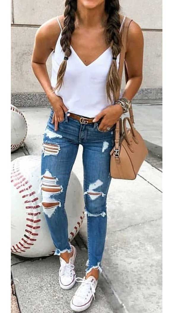 30+ Casual Outfits with Skinny Jeans | Popular outfits