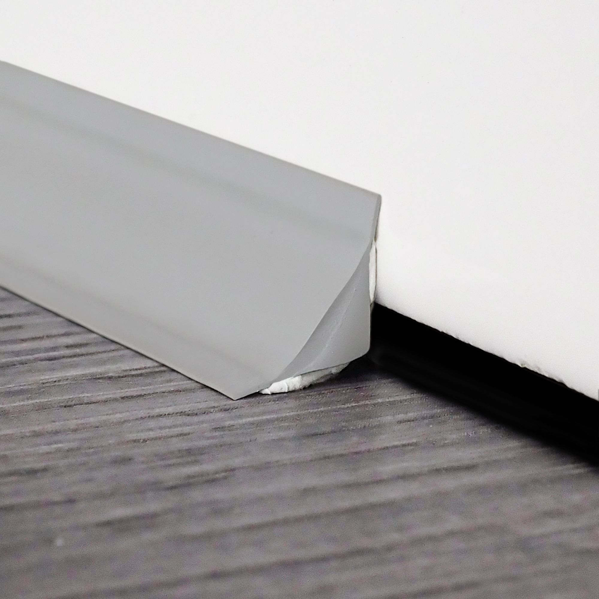 Instatrim 3 4 Flexible Trim Moulding Caulk Strips Gray 10 Ft 1 Pack Walmart Com Moldings And Trim Baseboards Flexible Molding