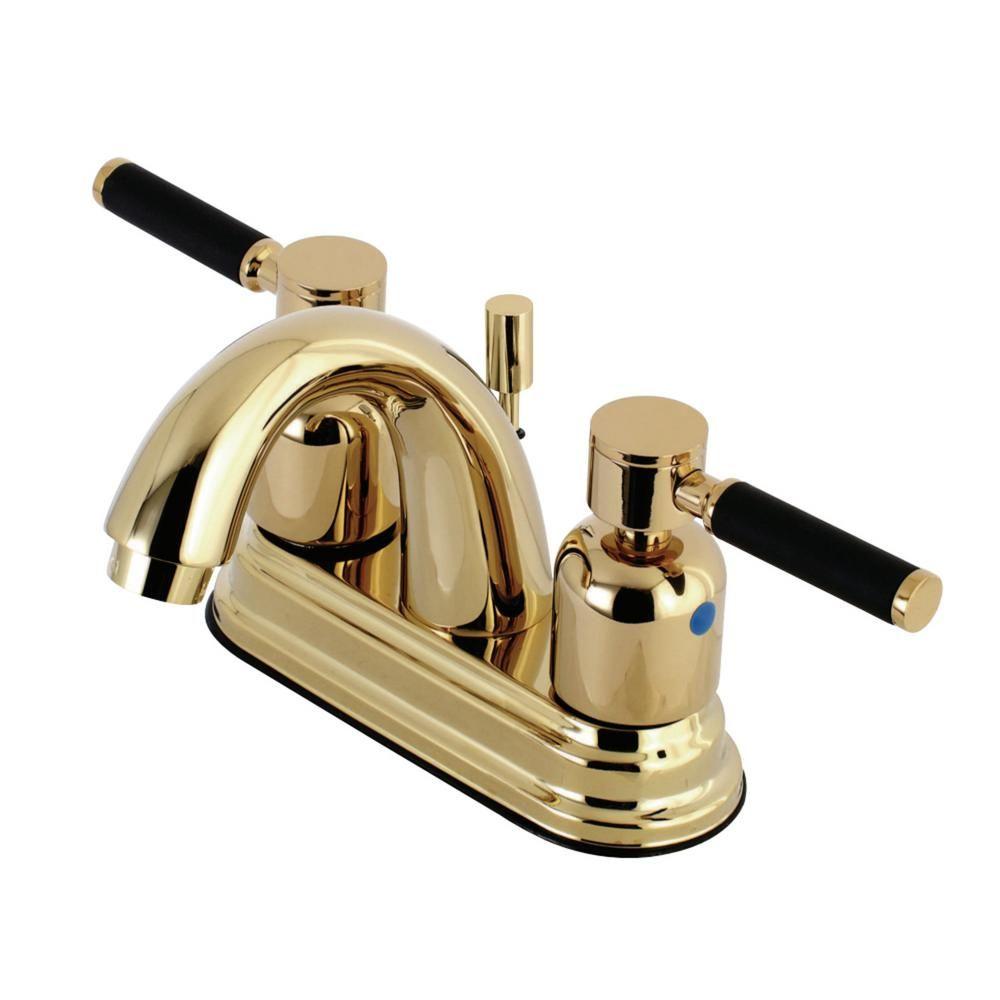 Kingston Brass Kaiser 4 In Centerset 2 Handle Bathroom Faucet In