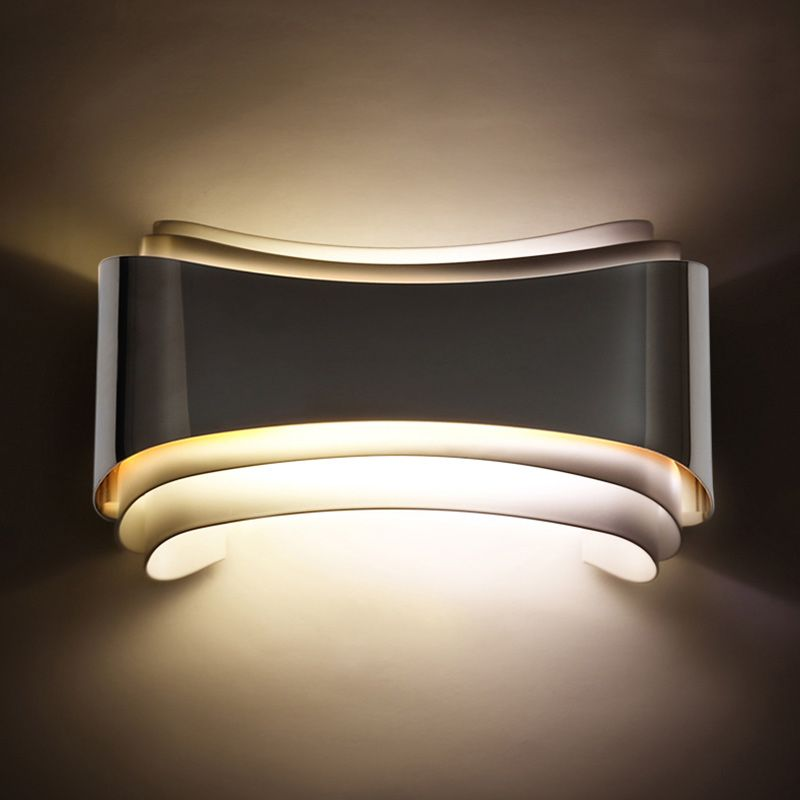 modern 5w led wall lights foyer bed dining living room lamp led bathroom lights bedside light - Wall Mounted Lights Living Room