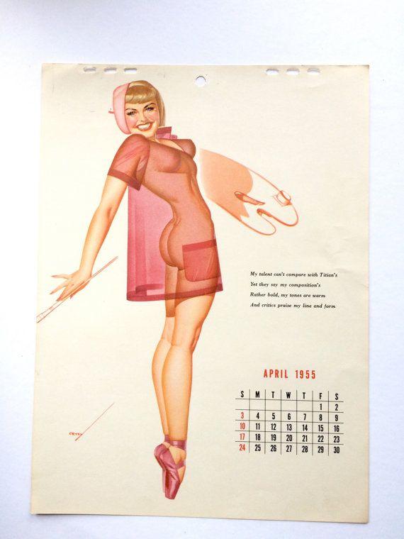 Pin up girl calendars criticising