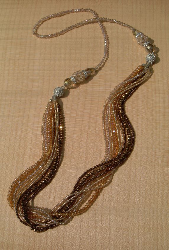 Beaded Necklace style-2166N available at Bellissima
