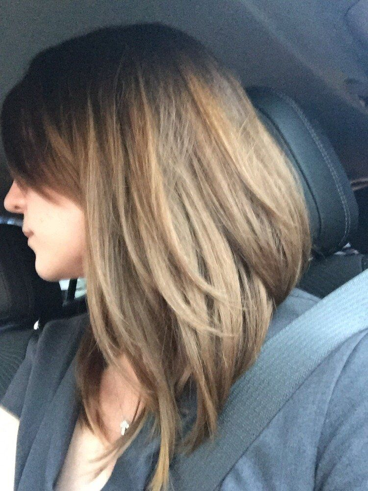 haircuts back shorter than front long bobs front view google search haircuts for medium
