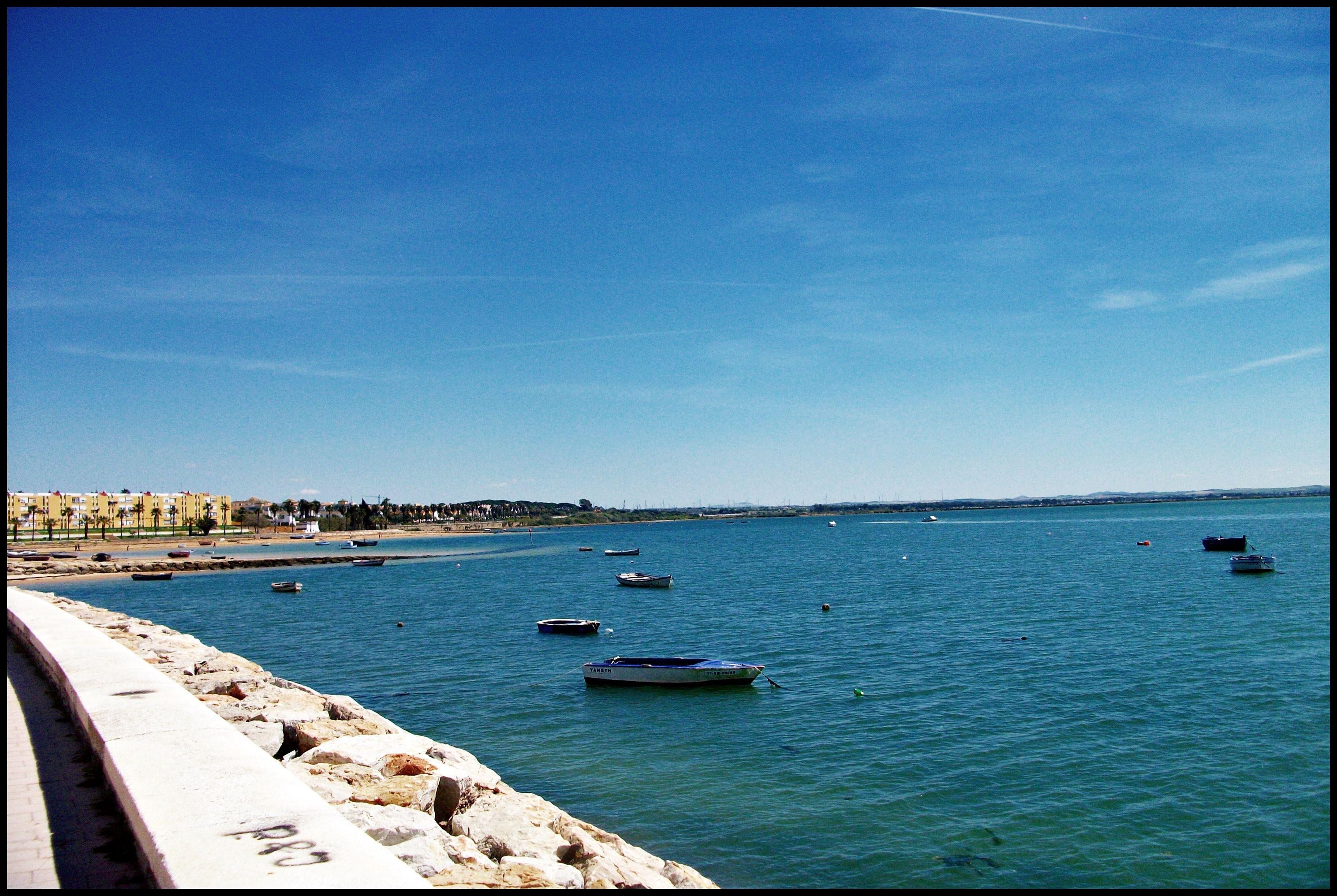 Bahia De Puerto Real Cadiz Puerto Real Andalucia Beach