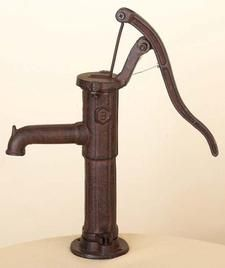 Old Water Pump Used As Sink Faucet Is This Possible Old