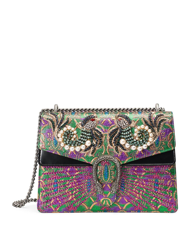 Gucci Dionysus Medium Brocade Shoulder Bag | Bag Lady ...