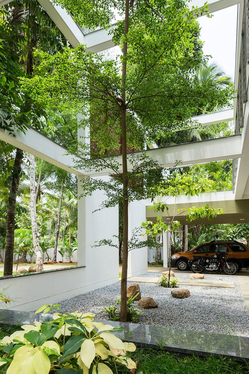 in india, LIJO RENY's 'regimented house' is immersed in