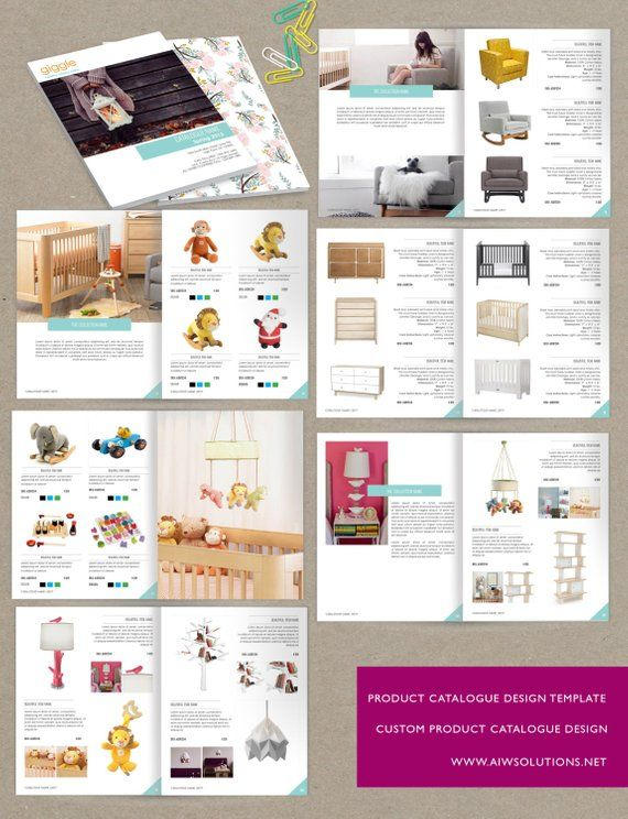 Wholesale Product Catalog template, jewellery Catalogue Template
